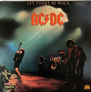AC/DC - Let There Be Rock (LP) (VG/G++)